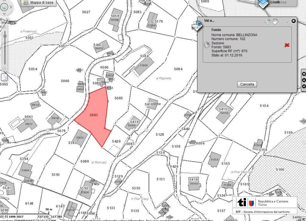 Grundstueck kaufen Bellinzona 4180/2350-6
