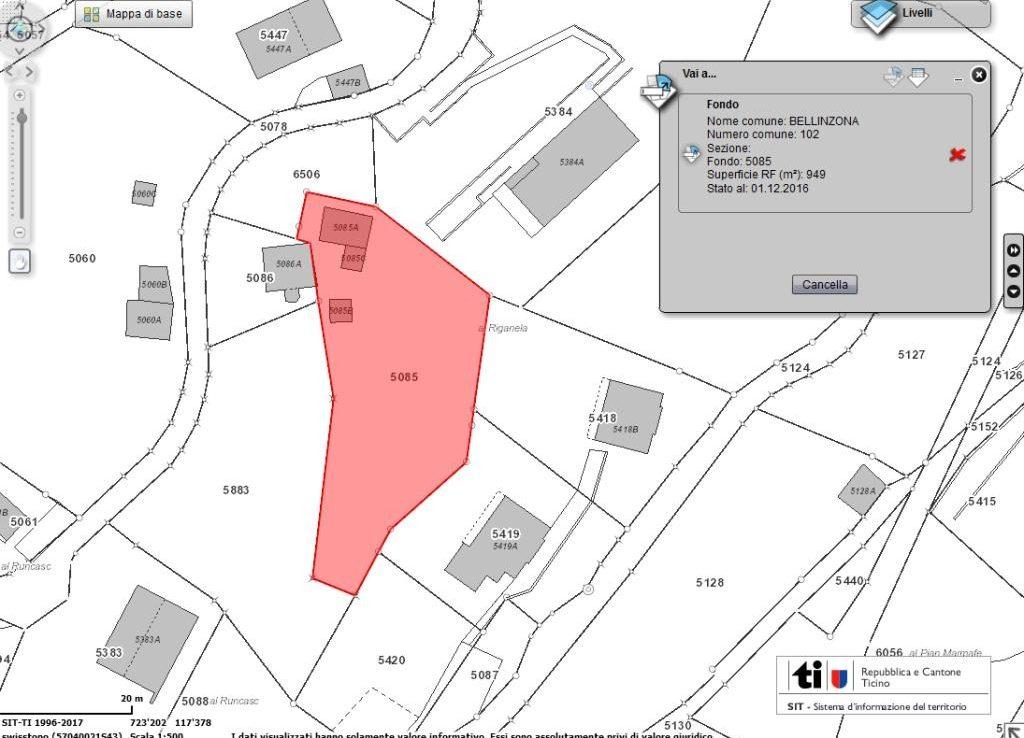 Grundstueck kaufen Bellinzona 4180/2350-7