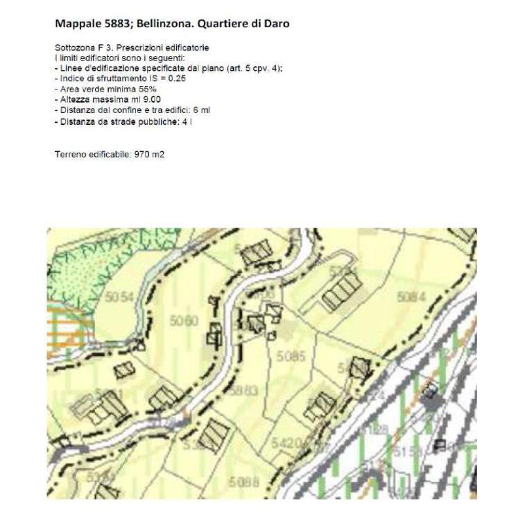 Grundstueck kaufen Bellinzona 4180/2352-9