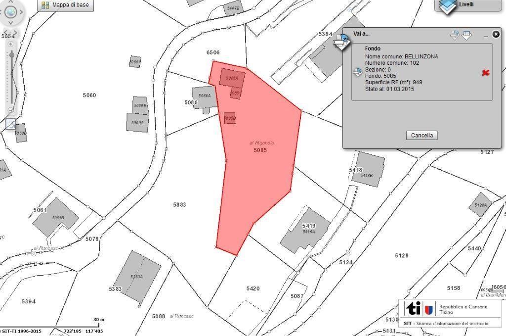 Grundstueck kaufen Bellinzona 4180/2352-1