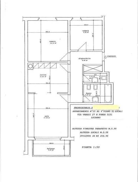 Wohnung kaufen Locarno 4180/2371-8