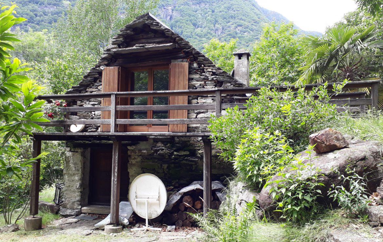 Rustico in der wild romantischen Tessiner Bergwelt ...