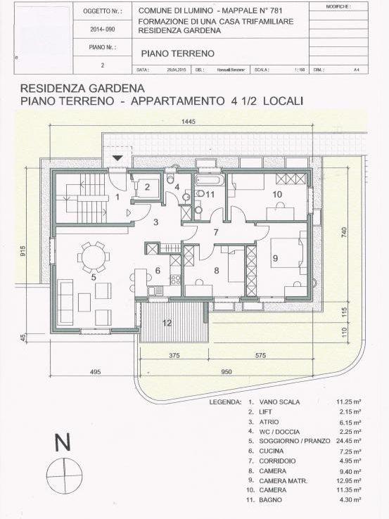 Wohnung kaufen Lumino 4180/1991-9